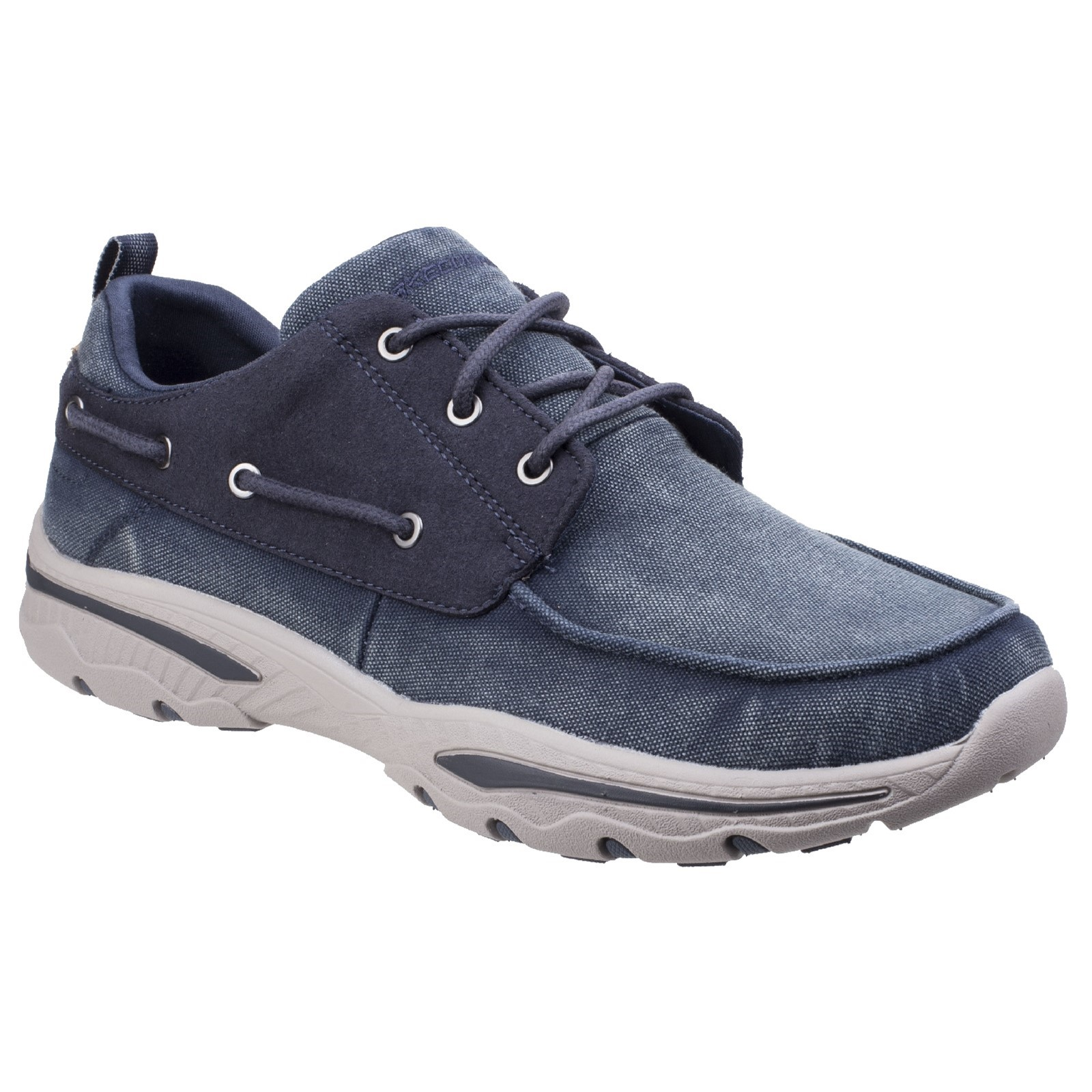 SKECHERS SK65347 Relaxed Fit Creston Vosen chocolate lace up shoe size 6-12